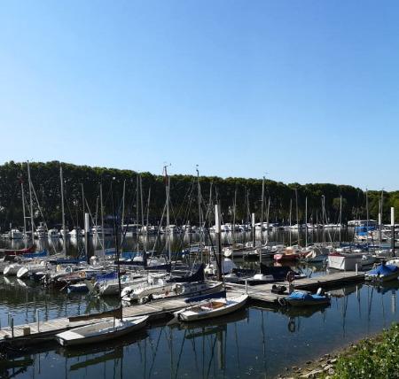 mymedAQ Magazin: Schiersteiner Hafen